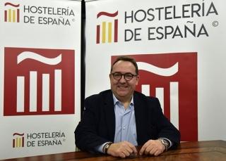 José Luis Yzuel, Presidente de la Federación Española de Hostelería.