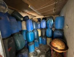 El aceite intervenido, en una imagen de la Guardia Civil.
