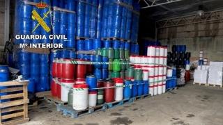 Se investiga el robo de más de 12.000 litros de aceite usado en Curtis, La Coruña
