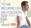 Colchones FLEX 50% dto.