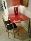Mesa + silla cubo