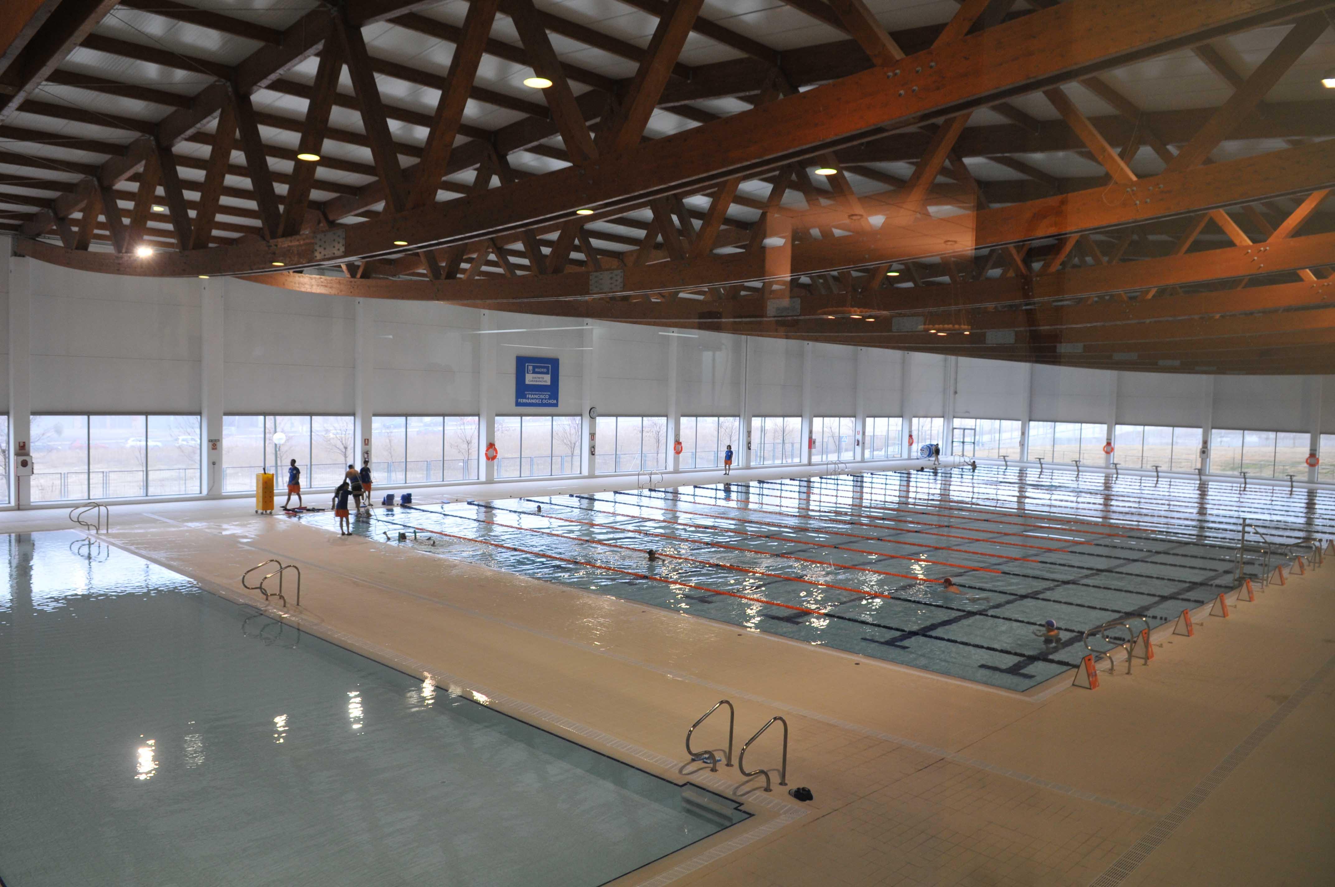 Centros deportivos seinsa instalaciones de for Piscinas municipales cubiertas madrid
