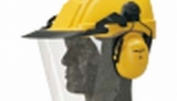 Combinaciones de casco, orejera y pantalla