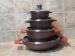 Conjunto Darna 3 cacerolas más wok con tapadera...