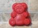 Molde silicona oso rojo Tescoma