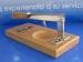 Abreostras base de madera Artame inoxidable.