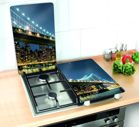 Tapas Para Cocinas De Gas | Tapa Vitroceramica Puente De Brooklyn Onlinemenaje Tienda