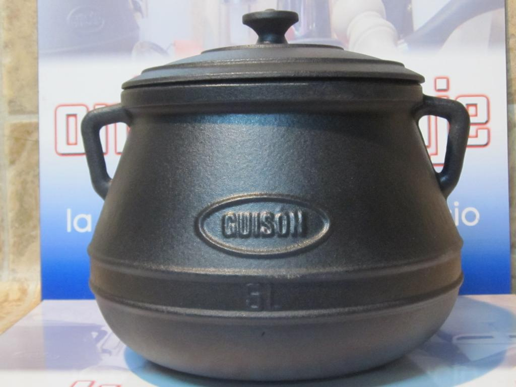 Olla hierro fundido guis n 5 litros onlinemenaje for Cocina hierro fundido