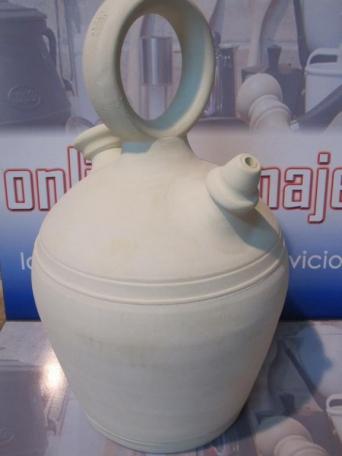 Botijo blanco barro de 4 5 litros de capacidad - Botijo de barro ...