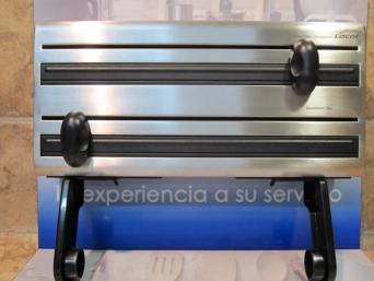 Sart n darna aluminio fundido 22 cms azul onlinemenaje - Portarrollos cocina triple ...