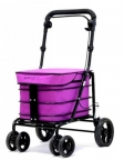 Carro compra andador silla plegable carlett 700 lila