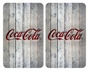 Tapa cubre cocina Coca Cola gris
