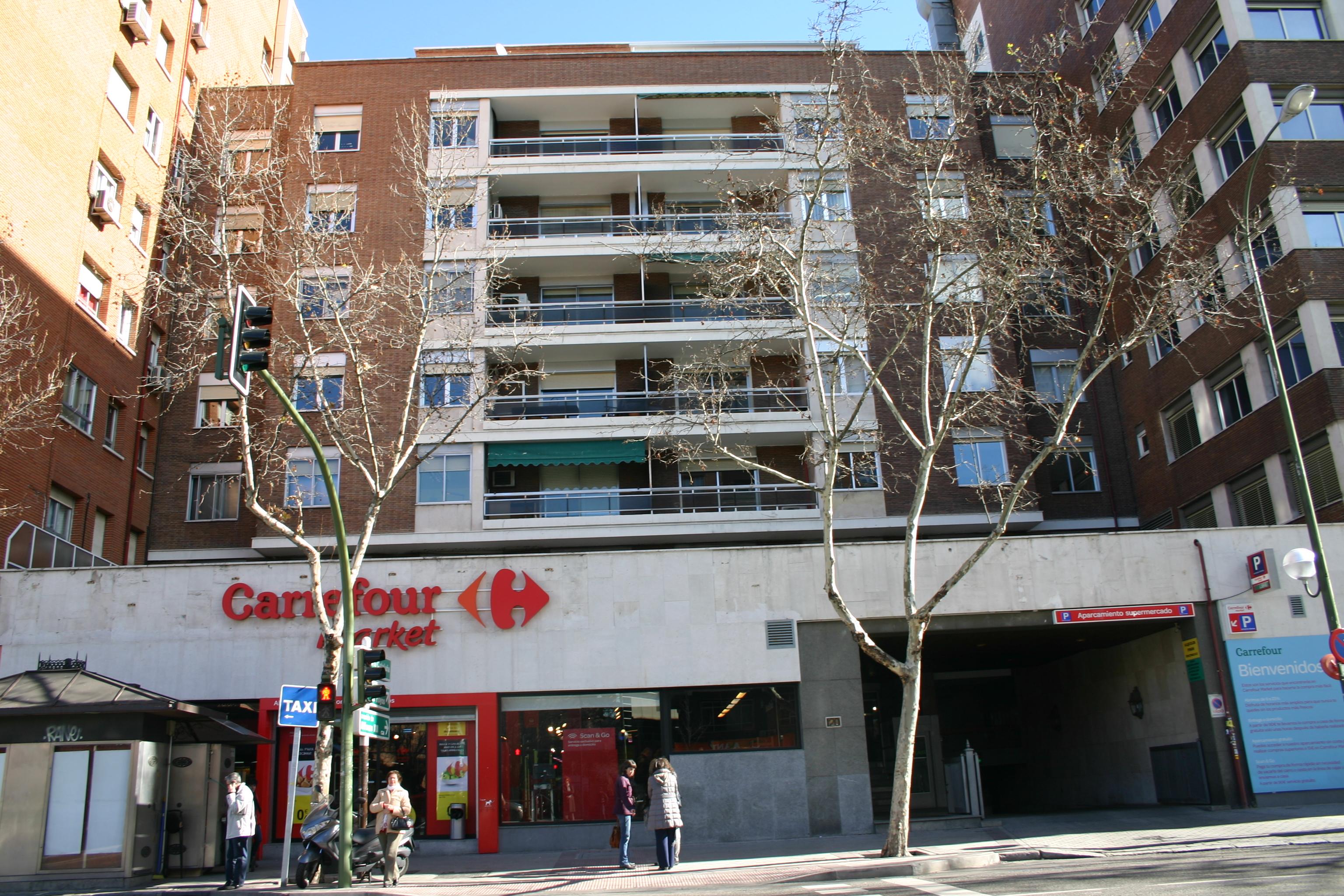 Edificio c pr ncipe de vergara 120 urcolesa proviarve - Carrefour oficinas centrales madrid ...
