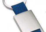 Llavero metalico con cinta