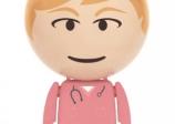 Pen drive Enfermera con forma de Bola