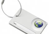 Etiqueta de maleta Global