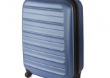 Maleta Trolley ABS Azul