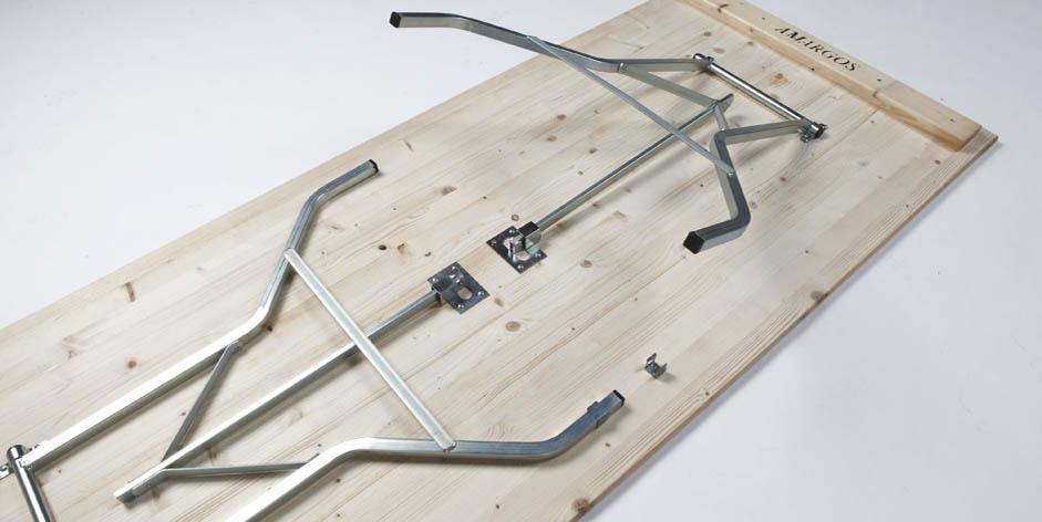 Herrajes para mesas plegables ideas de disenos for Patas de mesa plegables