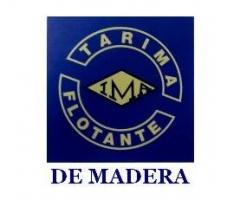 TARIMA FLOTANTE DE MADERA IMA