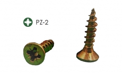 Tornillos para madera 16x3.5 pozi bricomatado