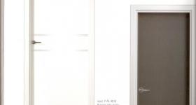 puertas de interior serie laminados color gris