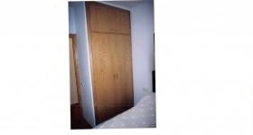 armario de dos hojas roble