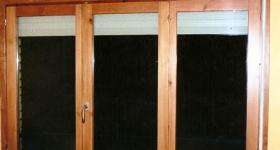 ventanas con persiana de aluminio