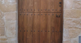 puertas entabladas de 1 hoja partida