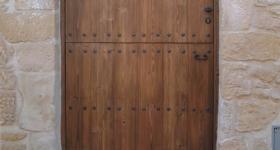 Puertas entabladas de una hoja partida