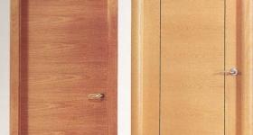 puertas de interior chapadas