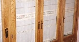 armario de tres hojas macizas de roble