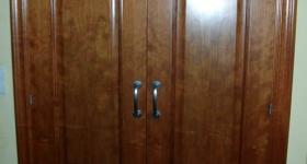 armario de dos hojas cerezo