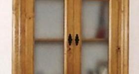 Armario practicable de dos hojas rustico para...