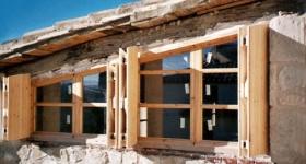 ventanas con porticon exterior