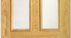 Puerta de interior chapada recta