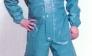 BUZO IMPERMEABLE CON CAPUCHA azul