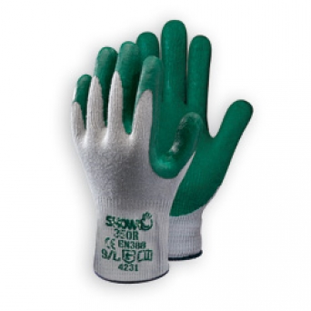 GUANTES 350R LATEX RUGOSO