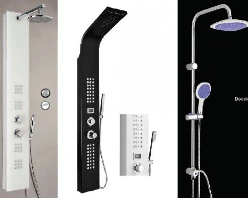 Columnas de ducha l der en complementos for Complementos de ducha