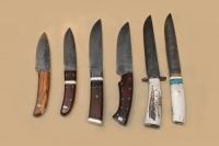 Cuchillos Forjados en Acero de Damasco