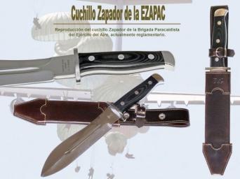 CUCHILLO DE ZAPADOR DE LA EZAPAC
