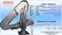 GRÚA MARINA INOXIDABLE MOD.: GIA-65/2