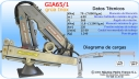GRÚA PARA BARCO INOXIDABLE MOD.: GIA-65/1