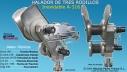 Halador para redes de trasmallo con 3 Rodillos HTI-3/700 Inoxidable.