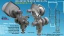 Halador de trasmallo con 2 Rodillos HTI-2/600 Inoxidable