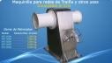 Maquina para Pesca de Traiña Inox de cabirones para maniobra
