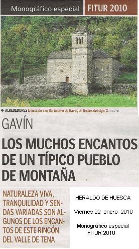 Monográfico especial FITUR - Heraldo de Aragón 22.01.2010