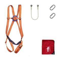 Kit arnés de seguridad con accesorios