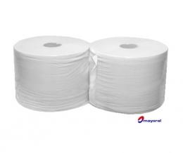 . Pack 2 bobinas de papel mediano