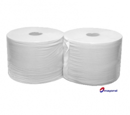 Pack of two medium paper rolls