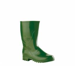 Seal model medium height green water boots
